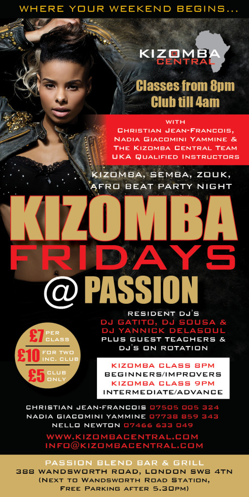 KCentral A6 Flyer FRIDAYS PASSION 260116 FACEBOOK