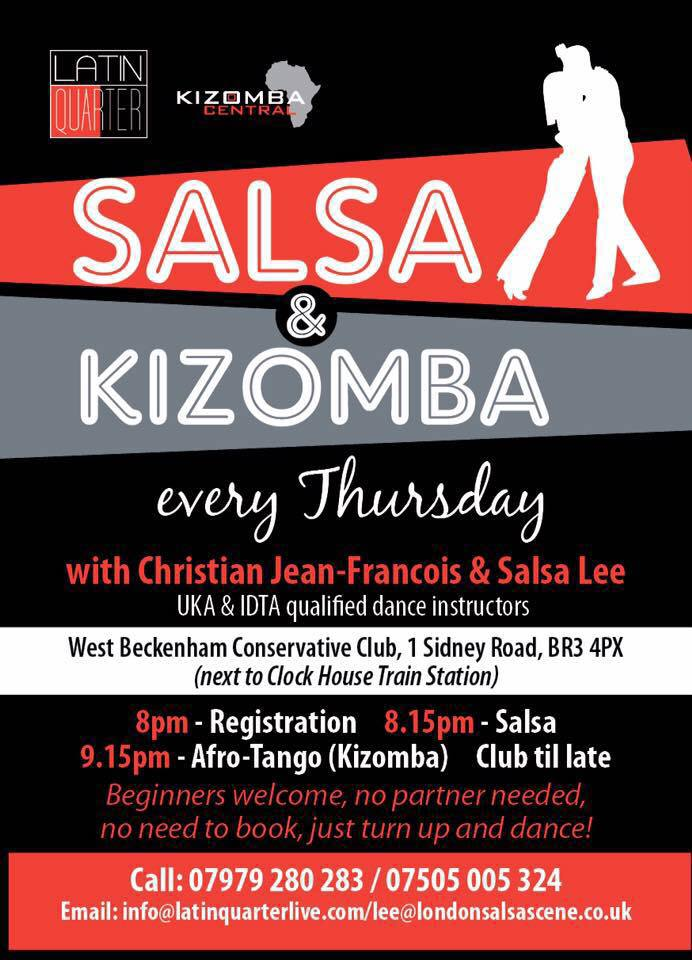 Thursday Kizomba