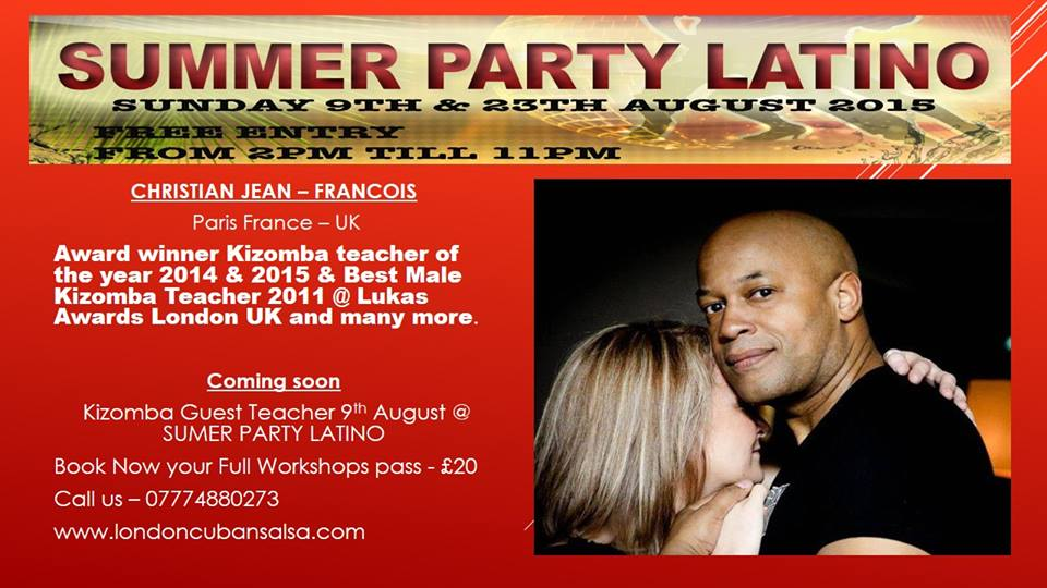 summer party latino