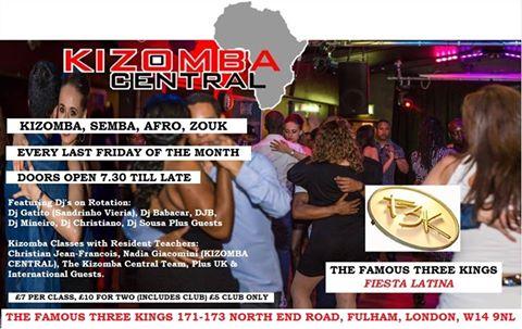 Kizomba Central at 3 king final 11.14